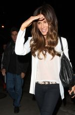 KATE BECKINSALE Nigh Out in West Hollywood 04/22/2015