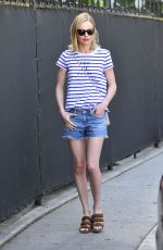 KATE BOSWORTH in Denim Shorts Out in Beverly Hills