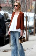KATE BOSWORTH in Jeans Out in New York