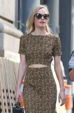 KATE BOSWORTH Out and About in New York