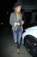KATE HUDSON Leaves Giorgio Baldi in Los Angeles 04/19/2015