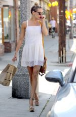 KATE HUDSON Out Shopping in Los Angeles