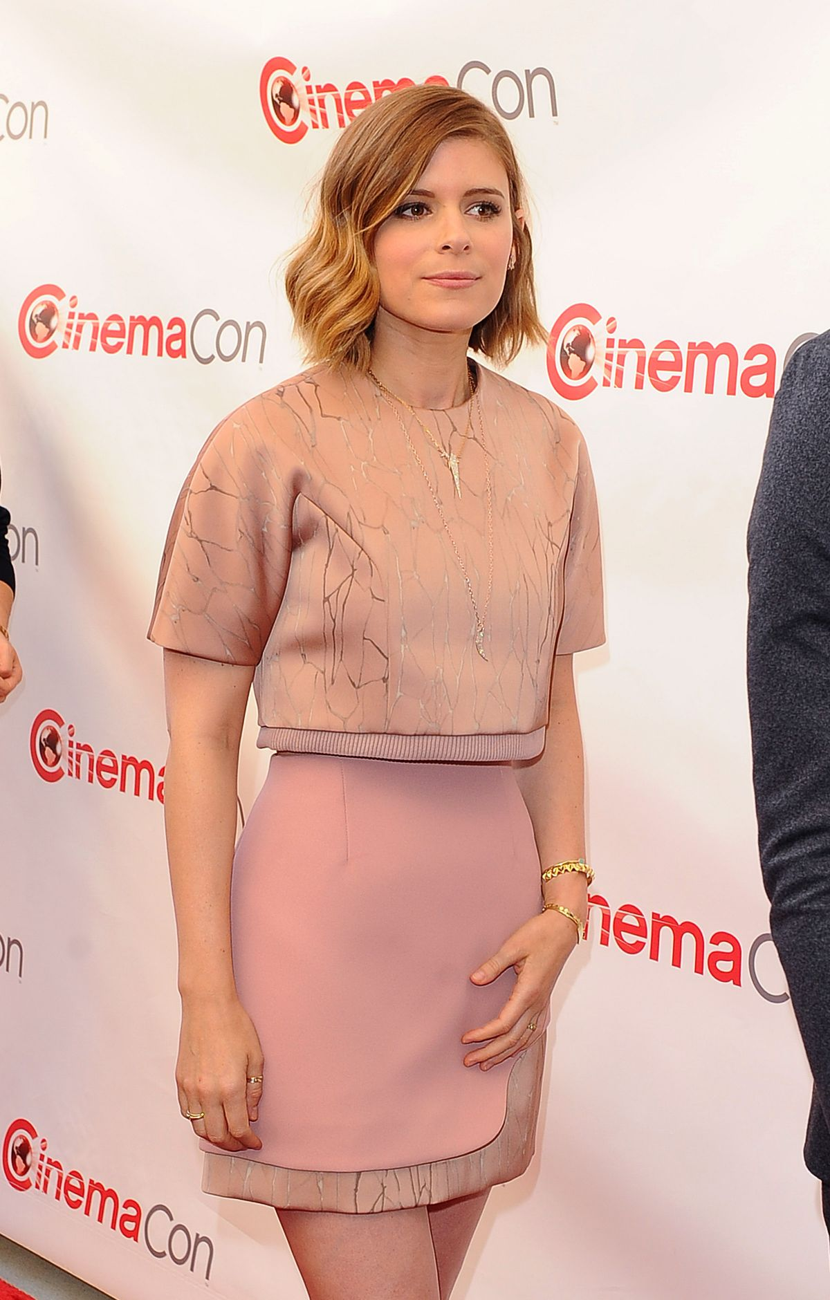 KATE MARA at 20th Century Fox Presentation at Cinemacon in Las Vegas