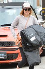 KATE MARA in Leggings Out in West Hollywood 04/22/2015