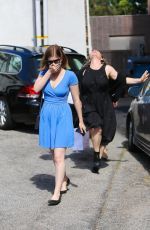KATE MARA Leaves a Salon in West Hollywood 04/29/2015