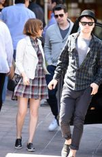 KATE MARA Out for Lunch in Los Angeles