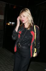 KATE MOSS Leaves Chiltern Fire House in London