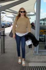 KATE UPTON Arrives at Heathrow Airport in London 040/28/2015