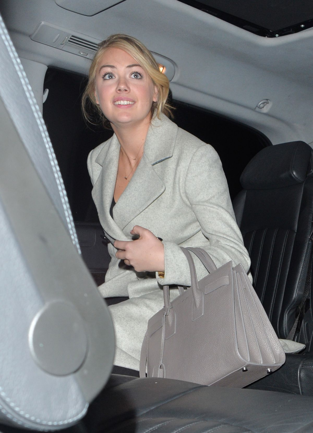 KATE UPTON at Chiltern Firehouse in London