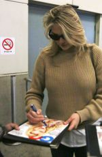 KATE UPTON at Vancouver International Airport 04/28/2015