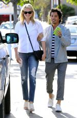 KATE UPTON in Jeans Out and About in Beverly Hills