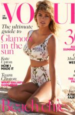 KATE UPTON in Vogue Magazine, UK June 2014 Issue
