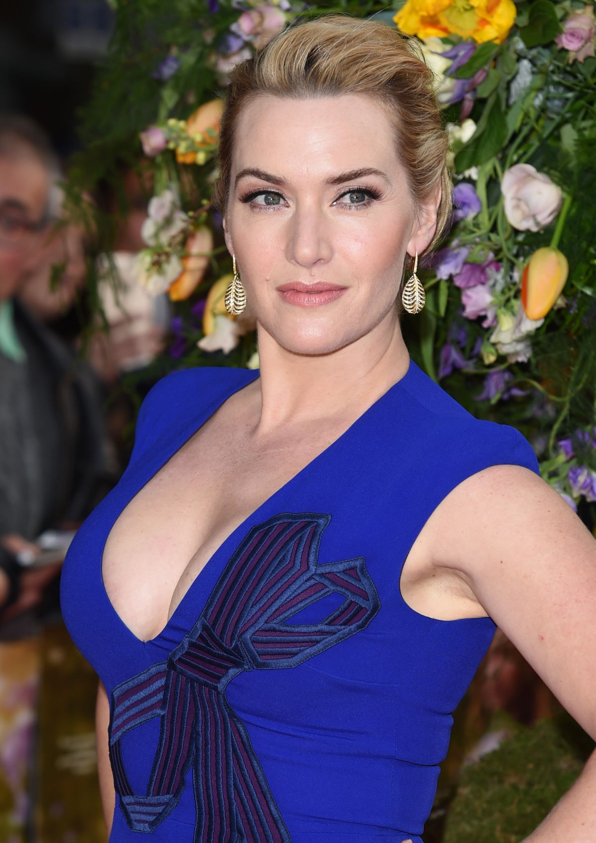 KATE WINSLET at A Little Chaos Premiere in London - HawtCelebs ...