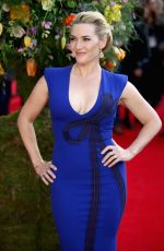 KATE WINSLET at A Little Chaos Premiere in London