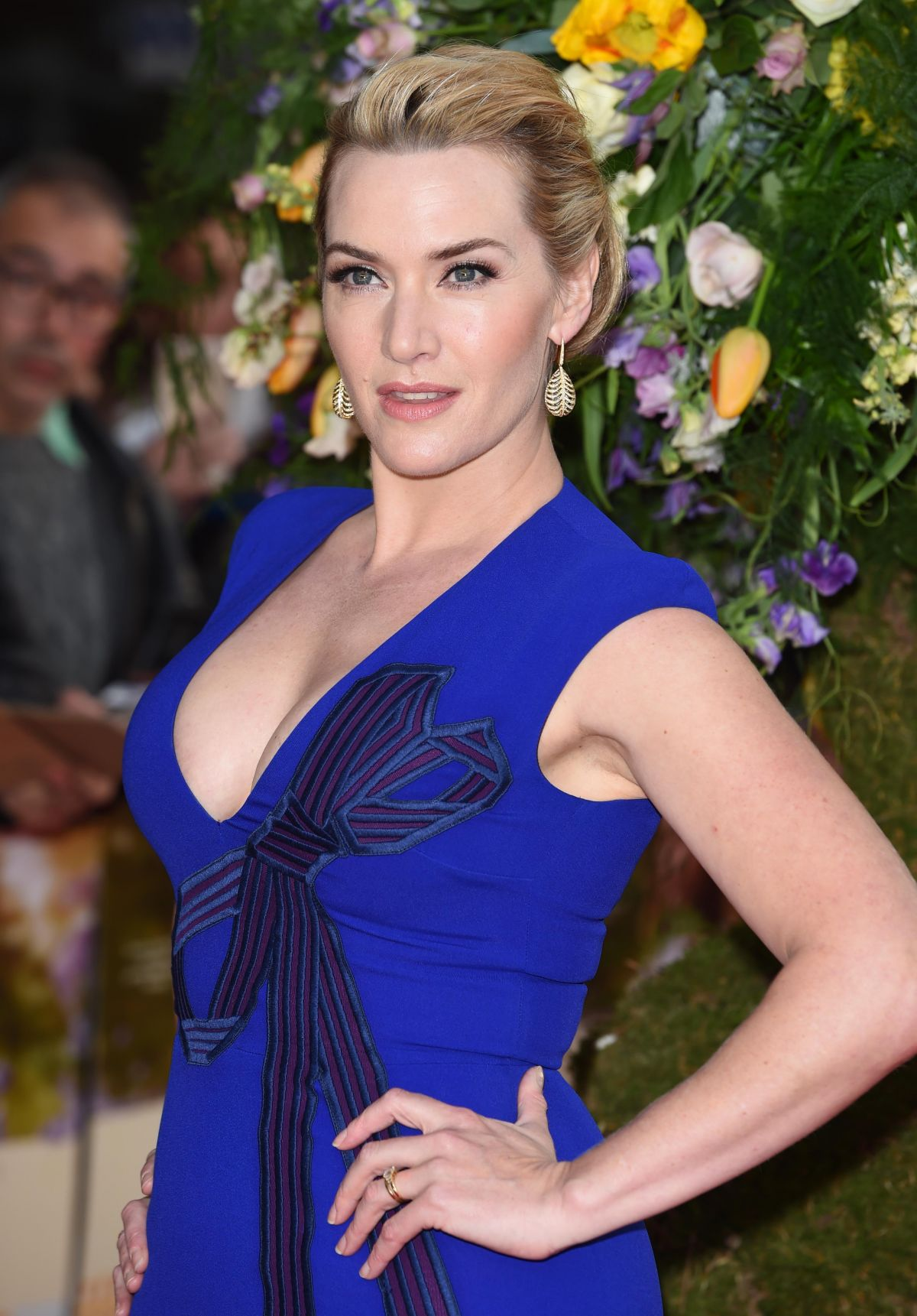 KATE WINSLET at A Little Chaos Premiere in London - HawtCelebs