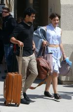 KATHARINE MCPHEE Arrives at Burbank Airport