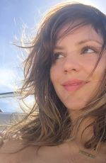 KATHARINE MCPHEE - Selfies in Bikini on a Boat