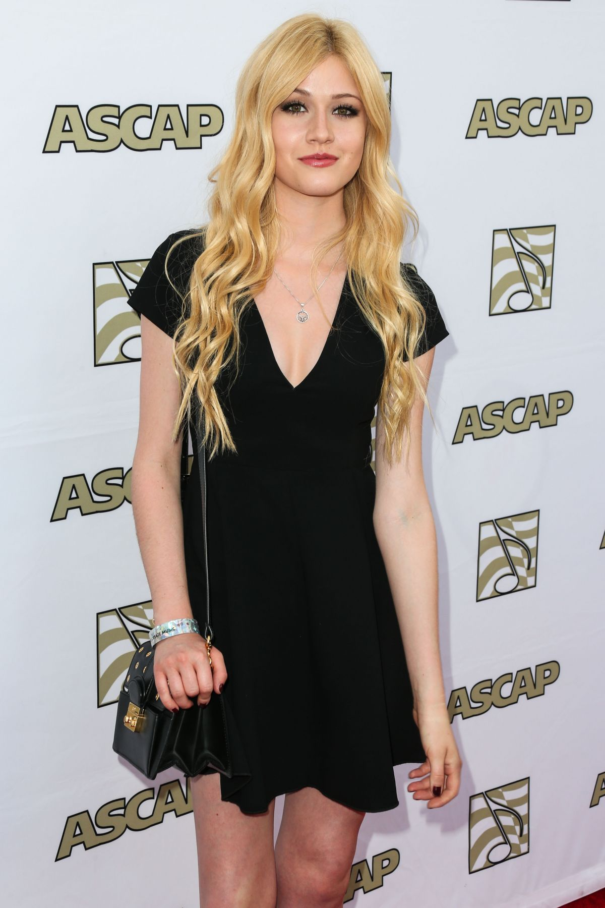 KATHERINE MCNAMARA at 2015 Ascap Pop Music Awards in Los Angeles