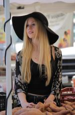 KATHERINE MCNAMARA at Farmers Market in Studio City