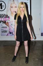 KATHERINE MCNAMARA at Popular Launch Party at Siren Lab Studios in Los Angeles