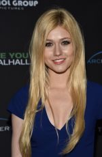 KATHERINE MCNAMARA at See You in Valhalla Premiere in Hollywood