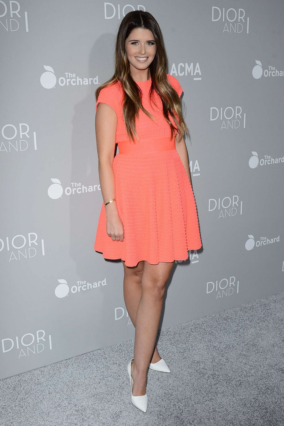 KATHERINE SCHWARZENEGGER at Dior and I Premiere in Los Angeles
