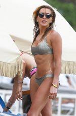 KATIE CASSIDY in Bikini at a Beach in Miami 04/23/2015