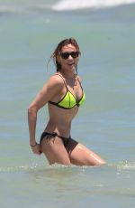 KATIE CASSIDY in Bikini at a Beach in Miami