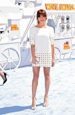 KATIE STEVENS at 2015 MTV Movie Awards in Los Angeles