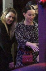 KATY PERRY at a Private Party at El Adobe Cafe
