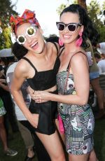 KATY PERRY at Mac Cosmetics Pool Party in Palm Springs