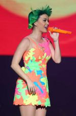 KATY PERRY Performs at Prismatic World Tour in Guangzhou