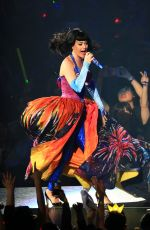 KATY PERRY Performs on Her Tour in Shanghai