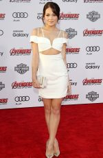 KELLI BERGLUND at Avengers: Age of Ultron Premiere in Hollywood