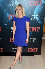 KELLIE PICKLER at 2015 CMT Upfront in New York
