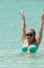 KELLIE PICKLER in Bikini on Vacation  in Bahamas