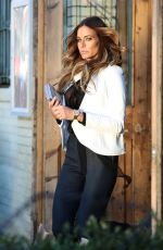 KELLY BENSIMON on the Set of a Photoshoot in New York