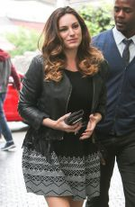 KELLY BROOK Arrives at Chatteau Marmont in Hollywood 04/22/2015