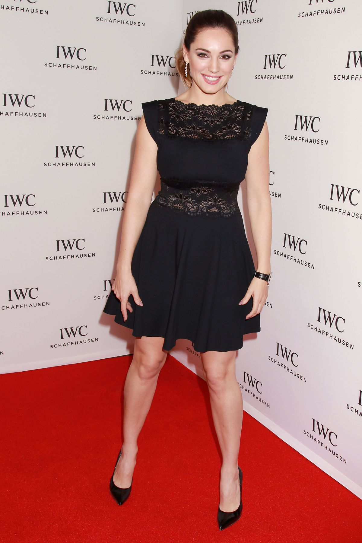 KELLY BROOK at IWC Schaffhausen for the Love of Cinema Gala at Tribeca Film Festival