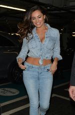 KELLY BROOK in Jeans Out and About in London