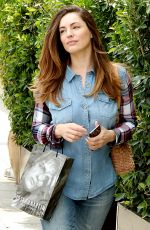 KELLY BROOK Out and Abou in Hollywood 04/23/2015