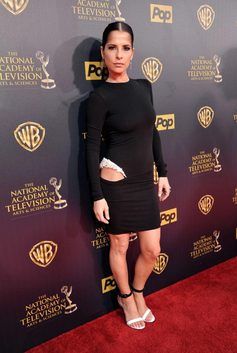 KELLY MONACO at 2015 Daytime Emmy Awards in Burbank
