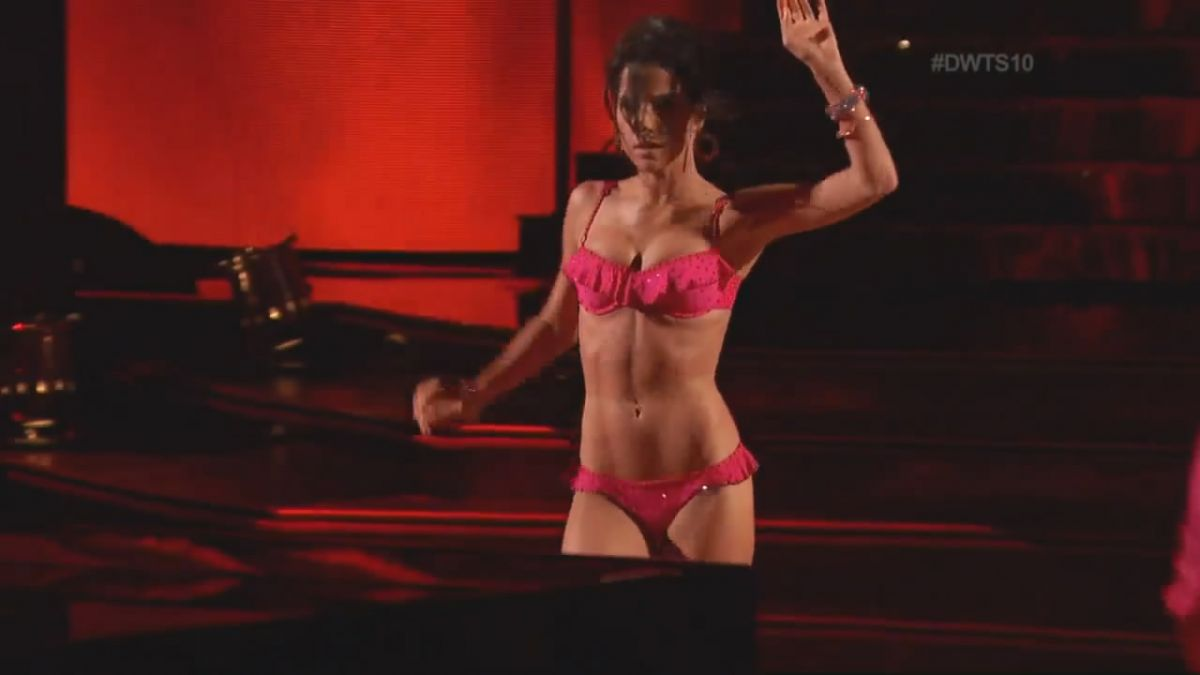 KELLY MONACO in Underwear on Dancing with the Stars 10th Anniversary Special