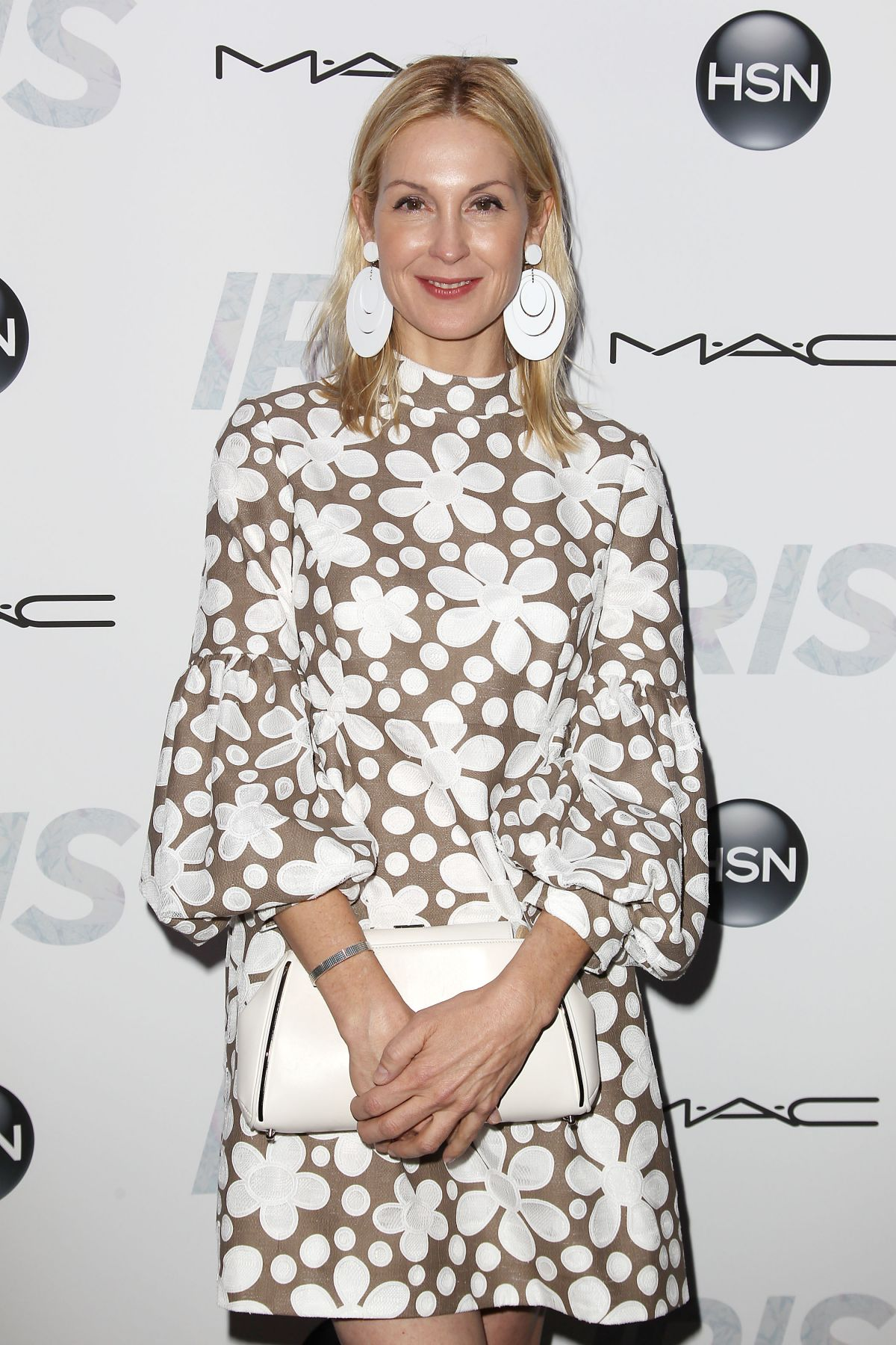 KELLY RUTHERFORD at Iris Premiere in New York