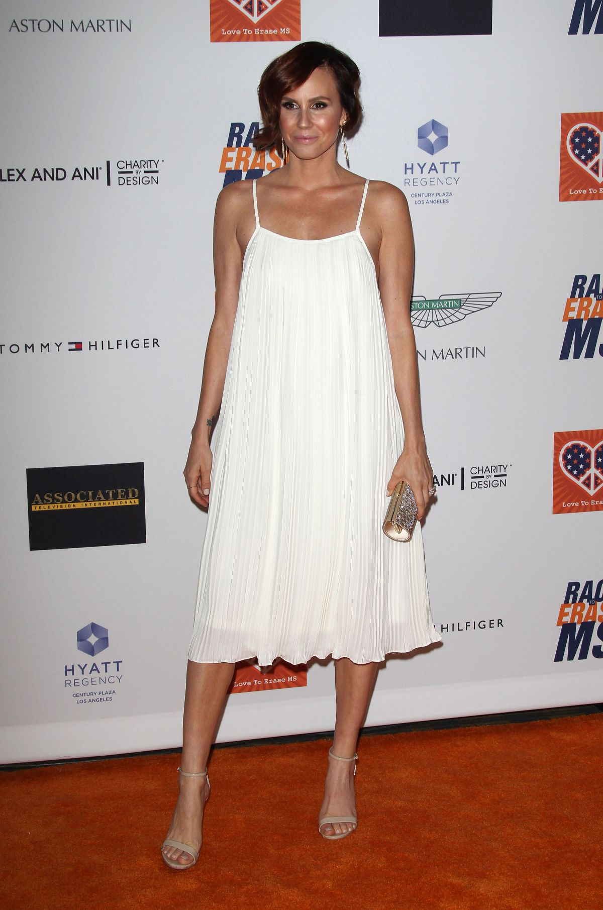 KELTIE KNIGHT at 2015 Race to Erase MS Event in Century City