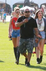KENDALL and KYILE JENNER and HAILEY BALDWIN at Coachella Music Festival, Day 1