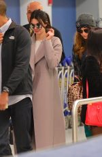 KENDALL JENNER Arrives at JFK Airport in New York 04/25/2015