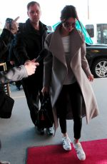 KENDALL JENNER Arrives at LAX Airport in Los Angeles 04/25/2015