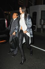 KENDALL JENNER Arrives at Red Stixs Restaurant in New York