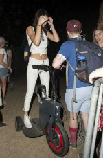 KENDALL JENNER at Coachella Music Festival in Indio 04/17/2015